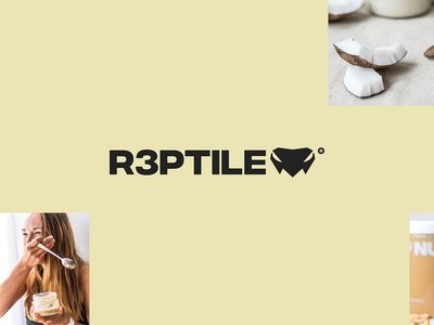 R3ptile — Brand Refresh branding layout identity colorful logo flat typography brand clean design
