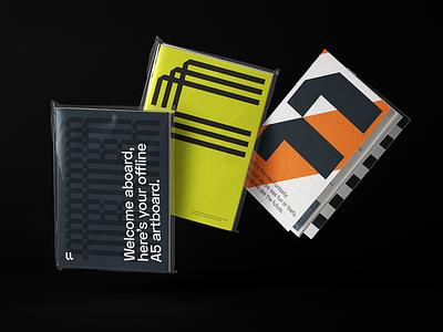 Futured — Visual Identity icon illustration vector branding identity colorful logo flat typography brand