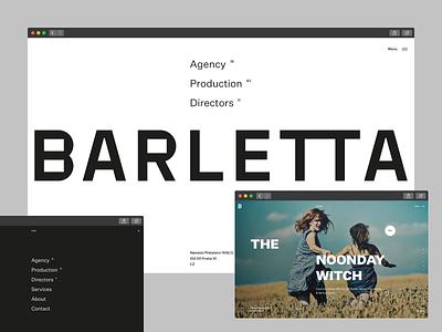 Barletta — Website live! ux web layout landing page website identity typography flat clean design