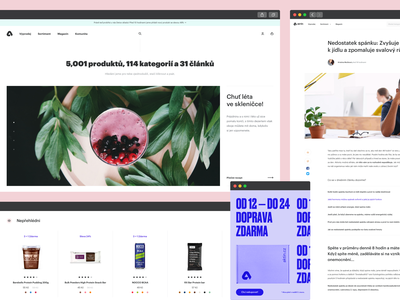 Aktin — Direction Pieces ui landing page layout website identity typography flat brand clean design