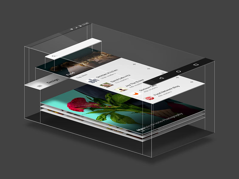 feedly for Material Design material design android feedly