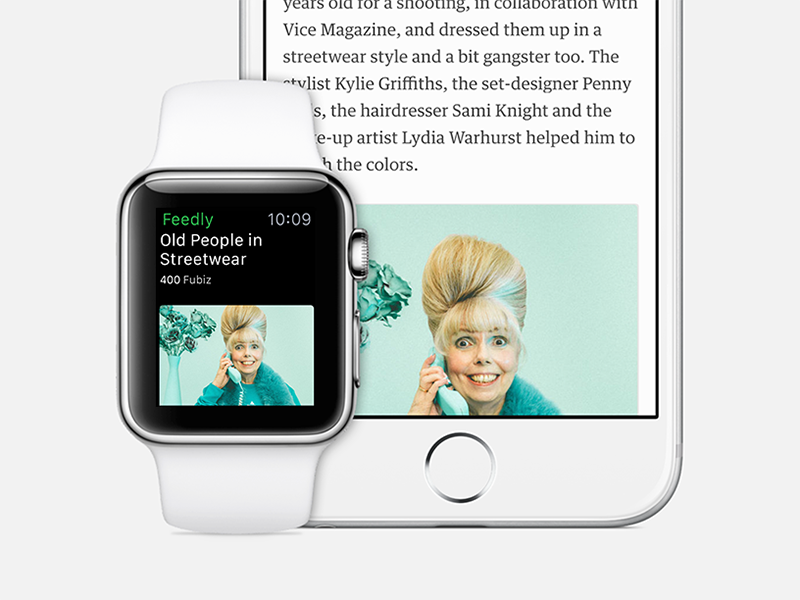 feedly for Apple Watch apple watch feedly