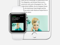 feedly for Apple Watch