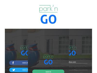 Park'n GO Login Screens