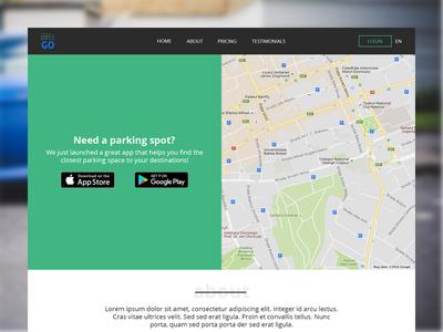 Park'n GO Website