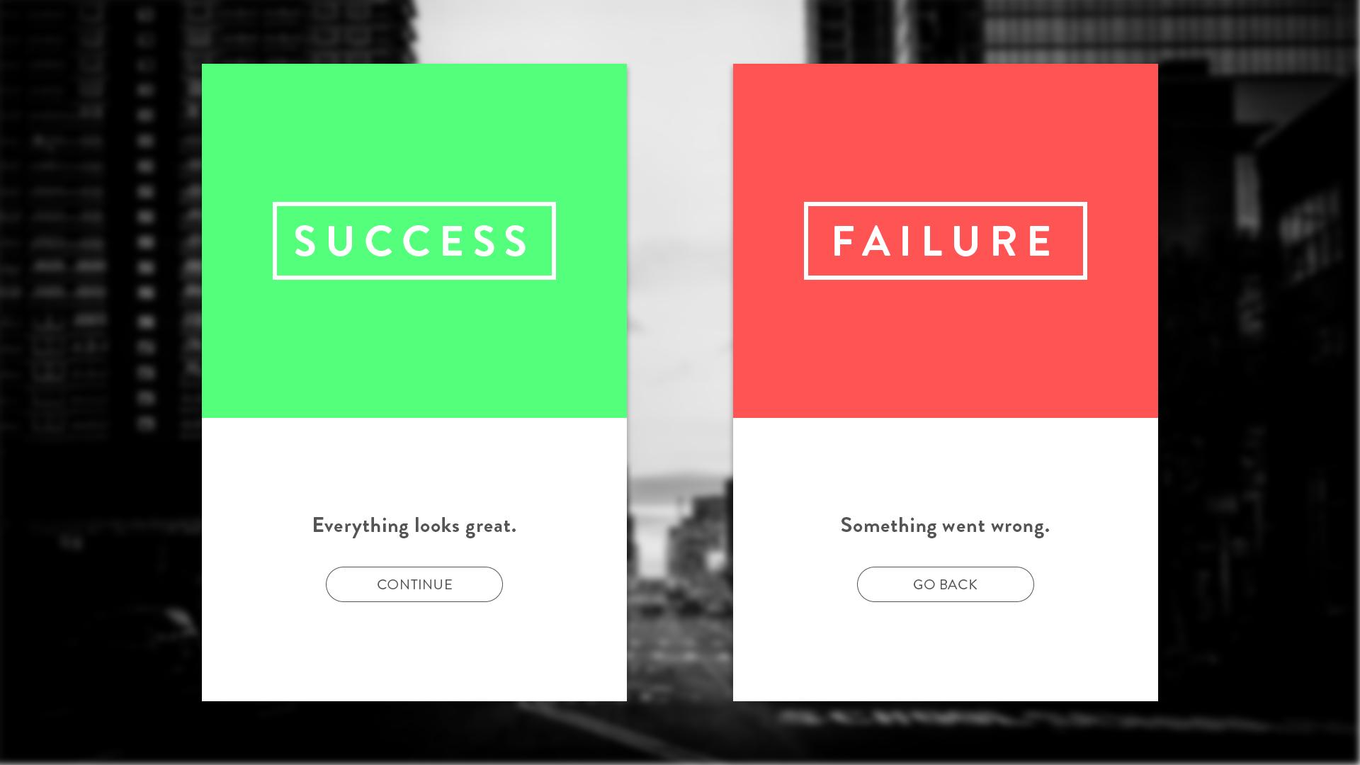 Ui 011 succes error