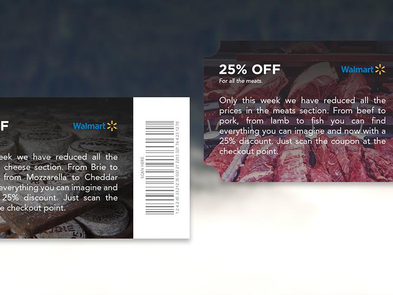 UI 020 Coupons cheese meat off ux walmart sale ui coupons dailyui
