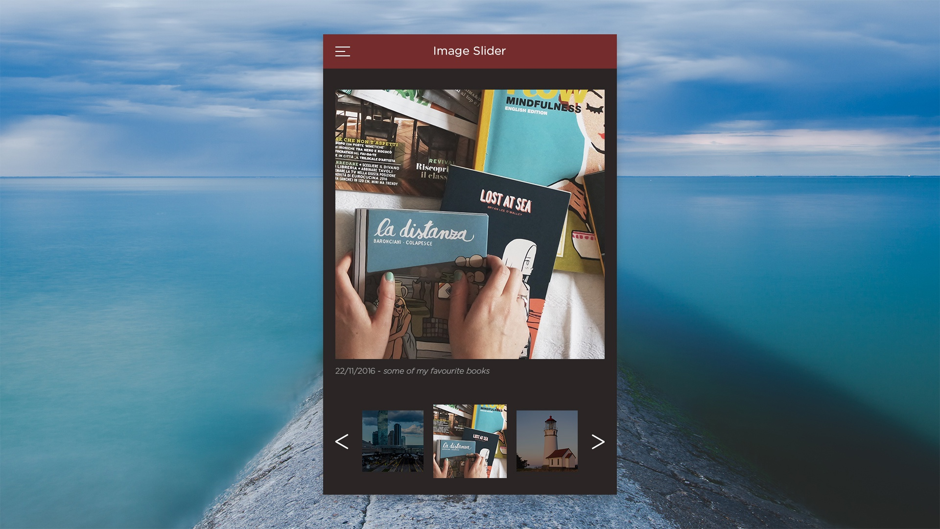 Ui 022 mobile image slider