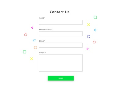 Contact Page #1