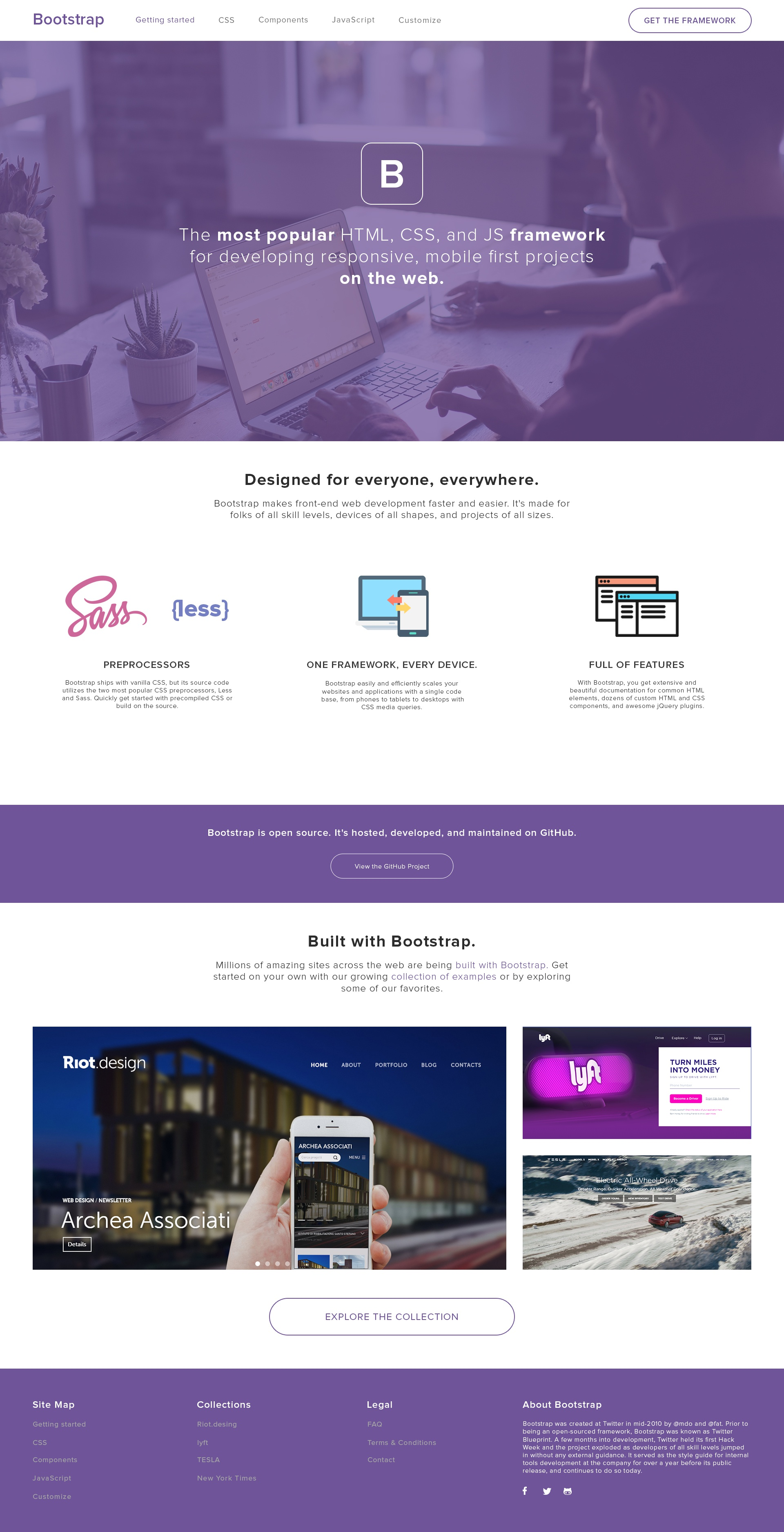 Bootstrap redesign