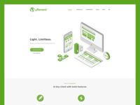uTorrent Redesign Home Page