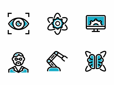 Icons for factory