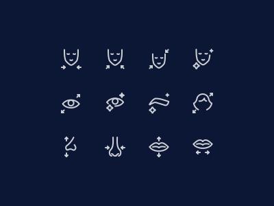 Icons for Prequel app