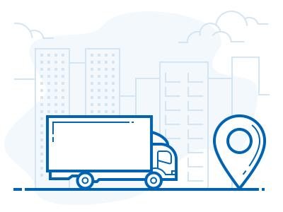 Illustration for logistic company