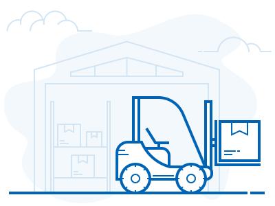 Illustration of Warehouse