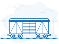 Illustration of Freight Train