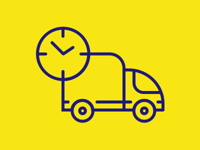 Icon of Deliver on Time