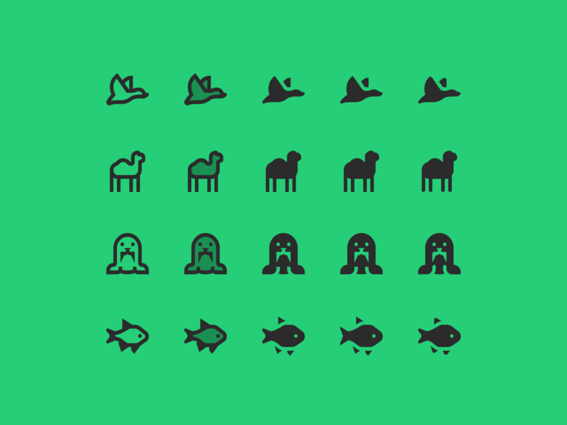 Material design icons duck fish user interface material design icon set web design outline icon illustration icons pack animals icons design icons vector