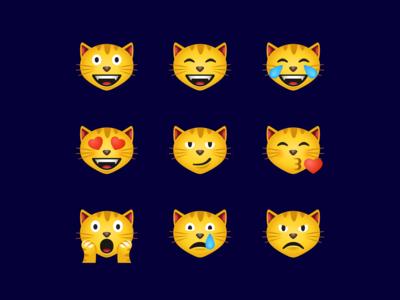 Cat face emoji