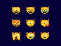 Cat face emoji