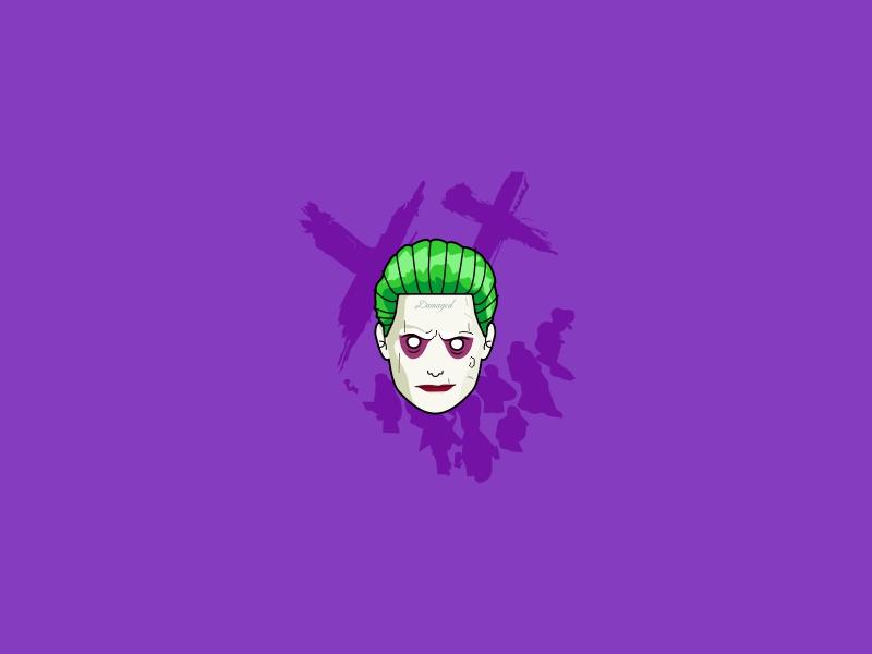 Jj art design jared-leto movie illustration comic-con suicide-squad batman hahaha joker comics dc