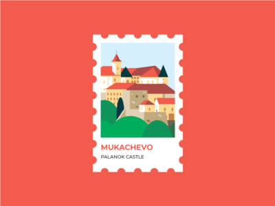 The Palanok Castle or Mukachevo Castle in Ukraine