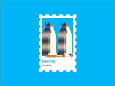 Dnipro Stamp