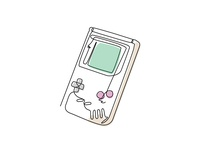 One Line Art (GAME BOY)