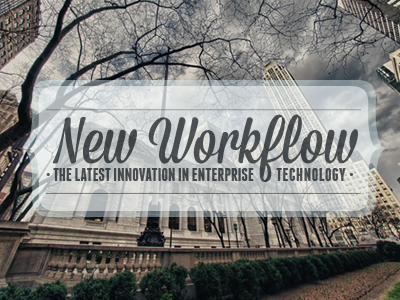 New Workflow2 badge new york new workflow announcement blog post cityscape type over image