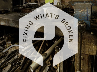 Fixing What's Broken wrench tools machine shop lockup haymaker work industrial hexagon pipes wrenches workshop