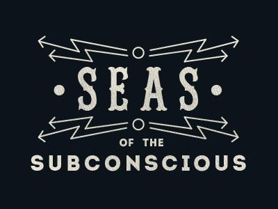 Seas of the Subconscious logo #2 seas subconscious arrow arrows nautical maritime redsox intro logo