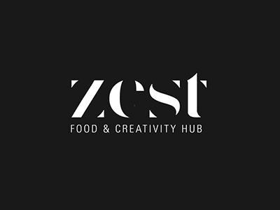 Types#5 design creativity food delicate logo brand zest