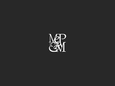 MePM college university school master font typography type black graphic design brand logo