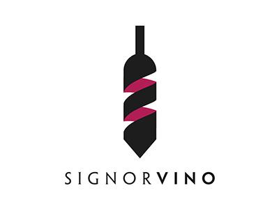 Signorvino italy bottle tie shop logo brand wine
