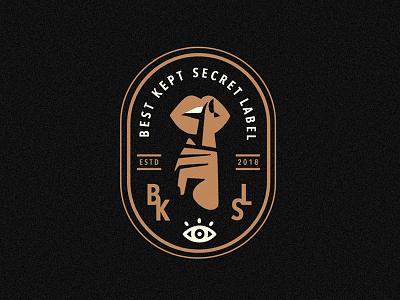 BKSL design hand drawn lips script font brand customtype logo typography logotype