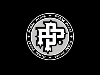 PP design script brand logo customtype type lettering typography logotype monogram logo pp monogram