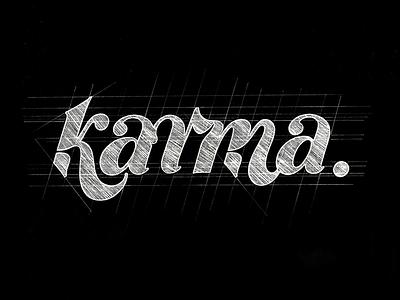 karma script customlettering font sketch handlettering calligraphy customtype type typography lettering