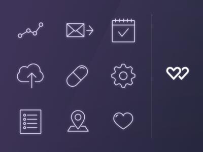 WellnessFX iOS Nav Icons icons ios