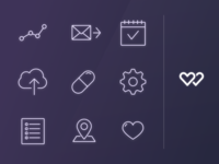 WellnessFX iOS Nav Icons