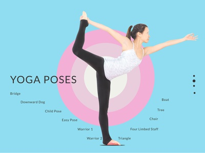 yoga poss youth yoga web design app ux ui