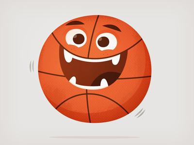 Basketmonster dribbble skwirrol