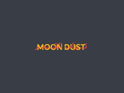Moon dust creative تصميم modern identity logodesign logo branding design typography