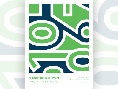 Product Release Poster