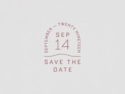Wedding Date Mark