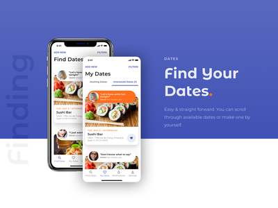 FoodMate - Not another dating app