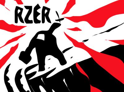 RZER IOS game app vector design illustration ios7 graphics app store mobile ios