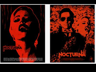 Art Direction for Vampire Movie poster art design illustration poster movie vampires vampire