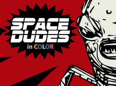 space dudes IOS app ios branding poster app art design illustration ios app design