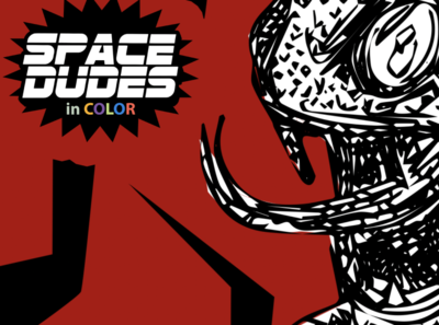 Space Dudes nyc logo ios typography art branding poster app illustration design ios app design