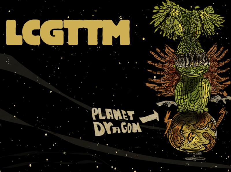 LCGTTM nyc cool branding poster app design art illustration illustrator kids interactive story